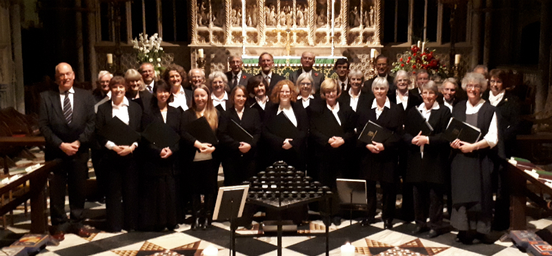 Kirbye Voices' Evensong at Ely Cathedral on 4 November 2017.