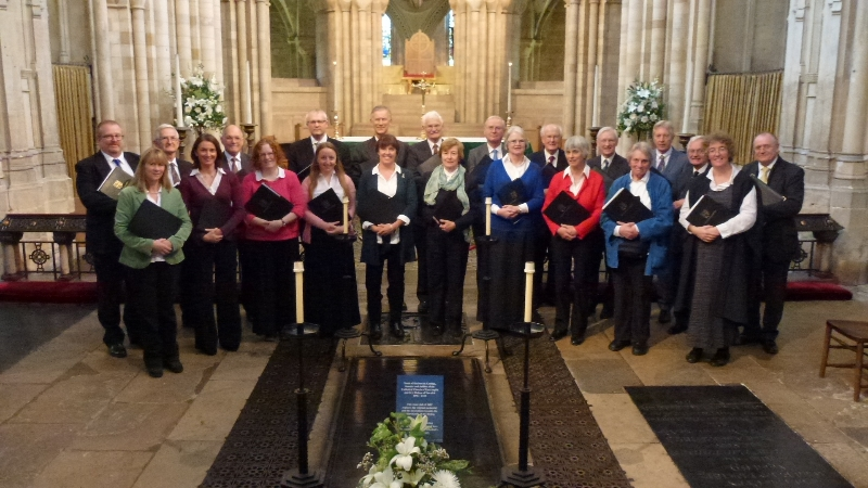 Kirbye Voices at Norwich Cathedral, October 2016